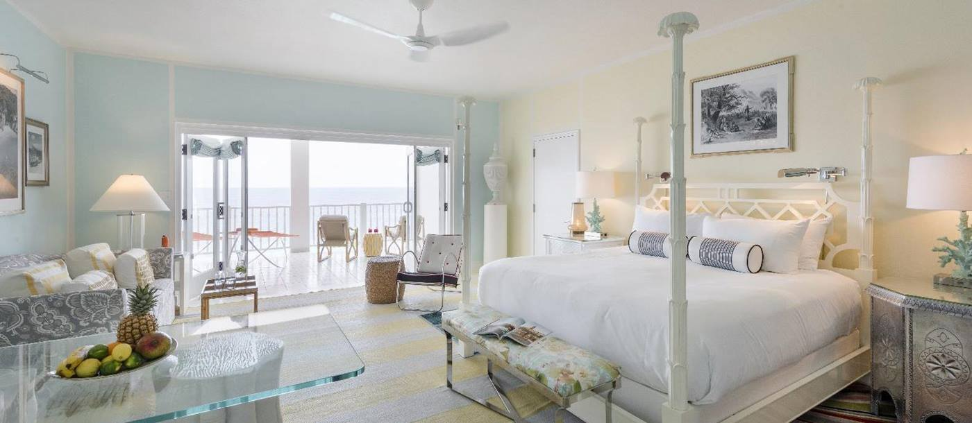 A double bedroom in Malliouhana, Anguilla