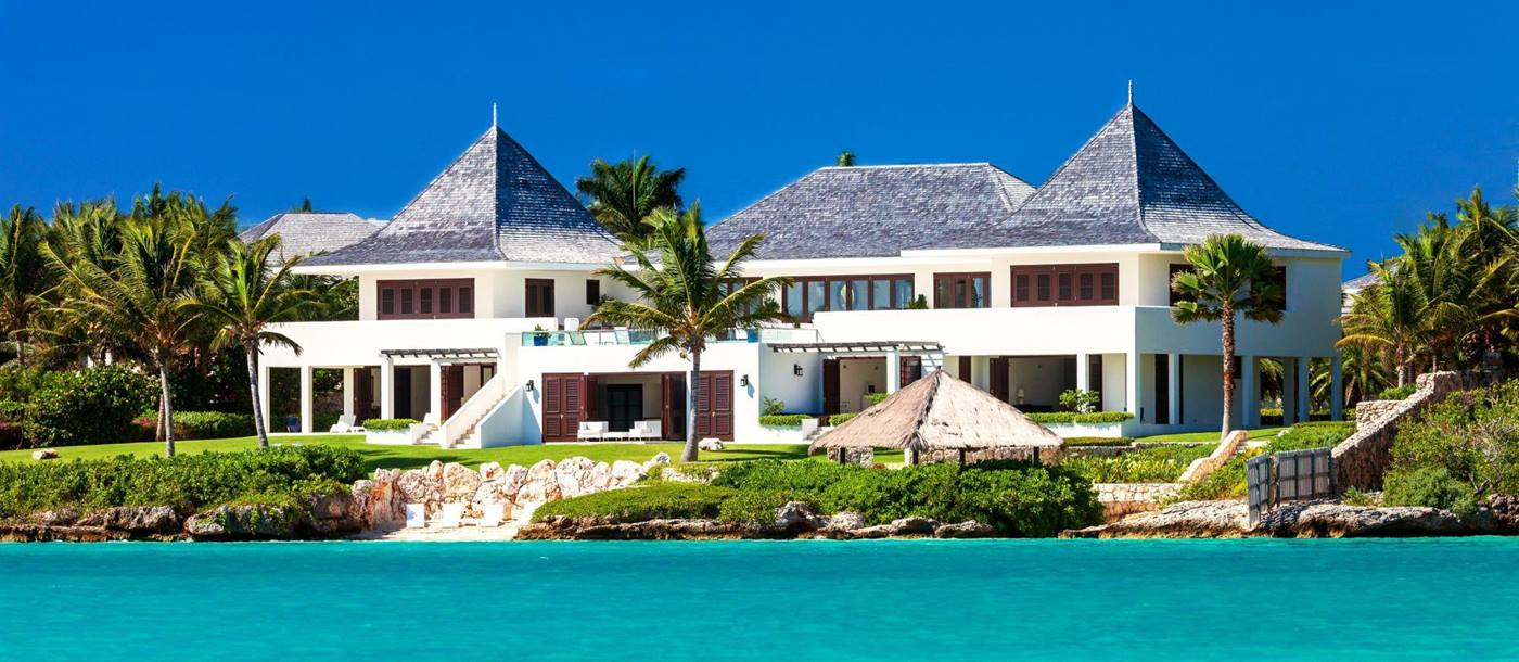 exteriors seen from the sea of le bleu, anguilla