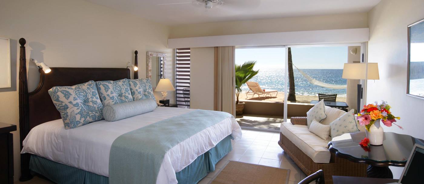 Deluxe room at Curtain Bluff, Antigua