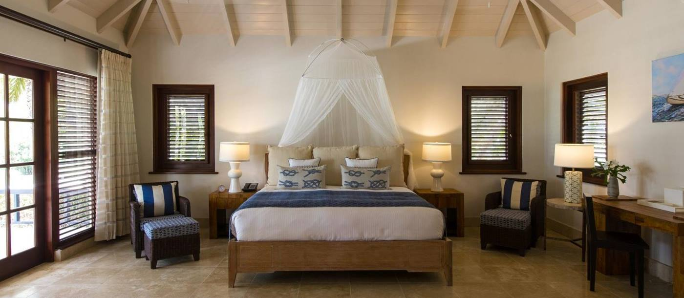 Bedroom at Harbour Heights in Antigua