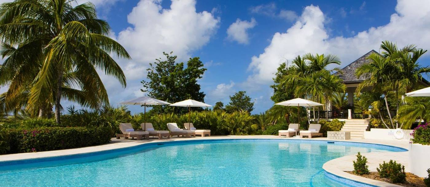 Pool at Harbour Heights in Antigua