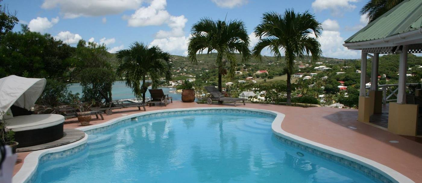 Swimming pool at Harbour Hill, Antigua