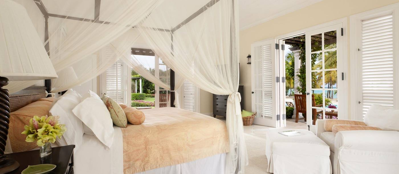 Double bedroom at Oleander, Antigua