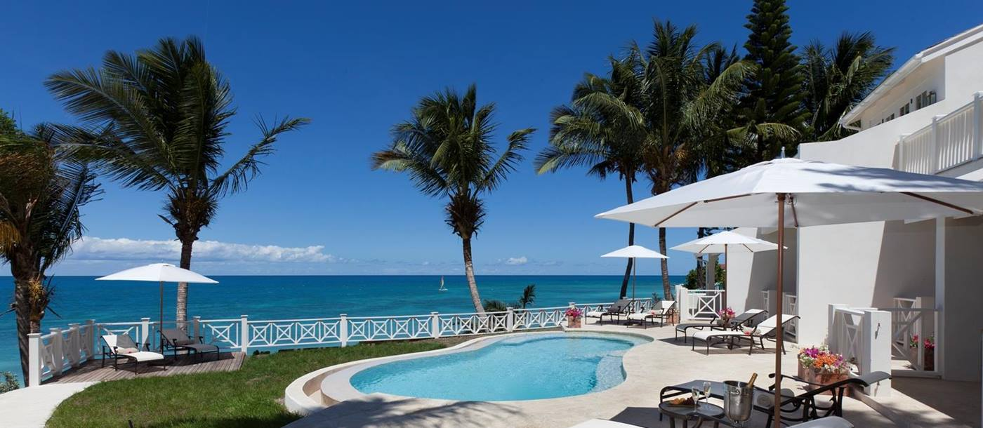 Pelican House in Antigua-pool-view