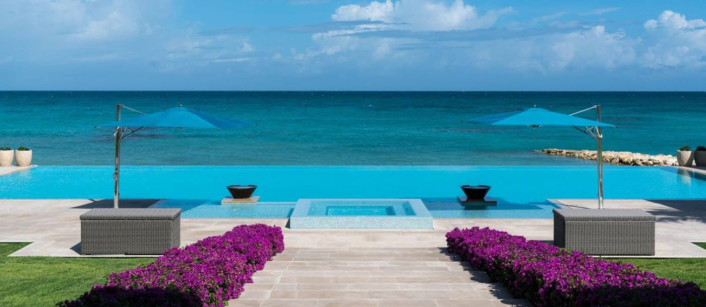 Ocean view at Pure Turquoise-Jumby Bay-Antigua