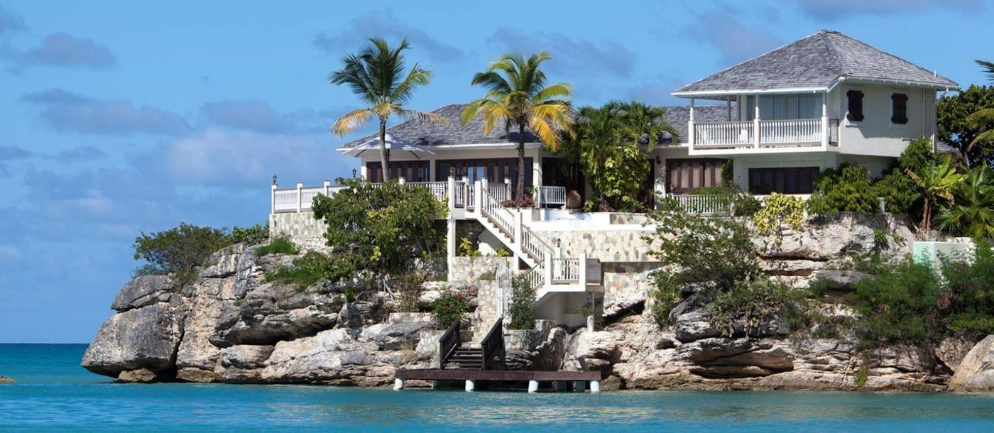 View from Sea  Rock Cottage - Antigua