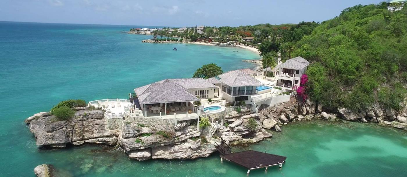 Aerial2-Resort- Rock Cottage - Antigua