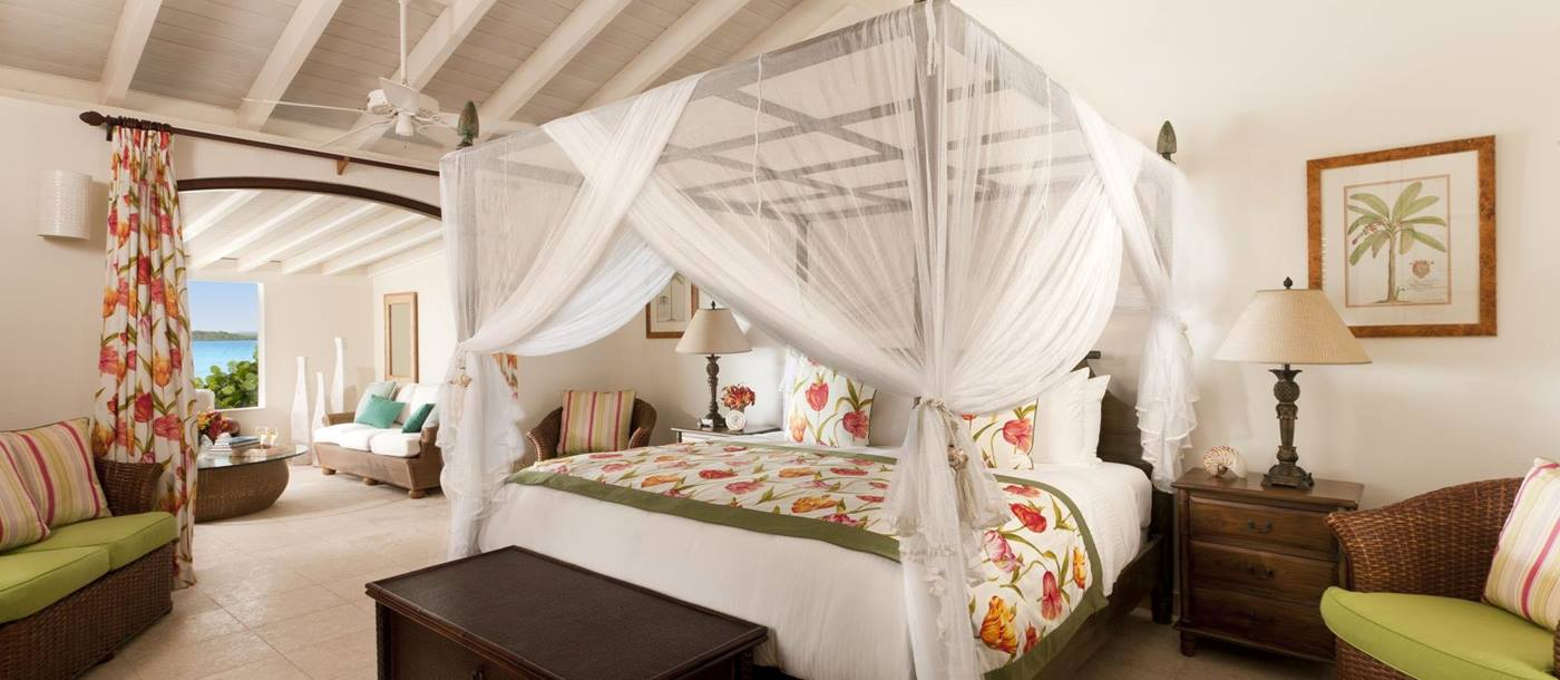 Double bedroom of Seabreeze, Antigua
