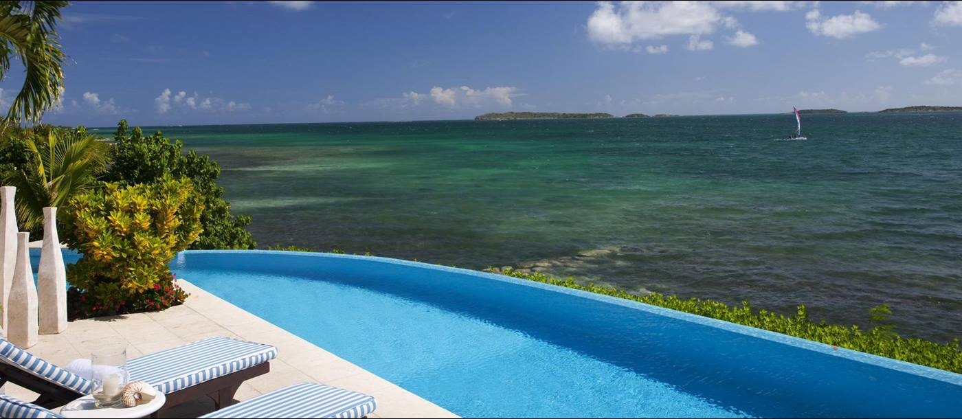 Swimming pool of Seabreeze, Antigua