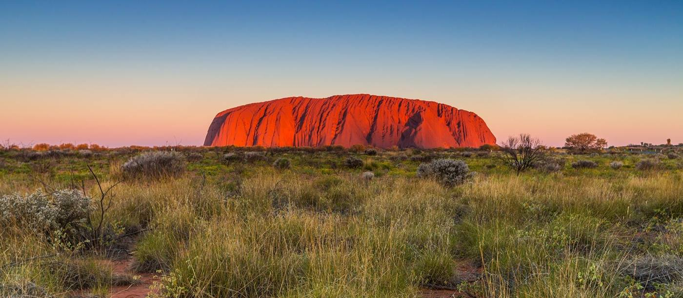 Ayers Rock in Australia