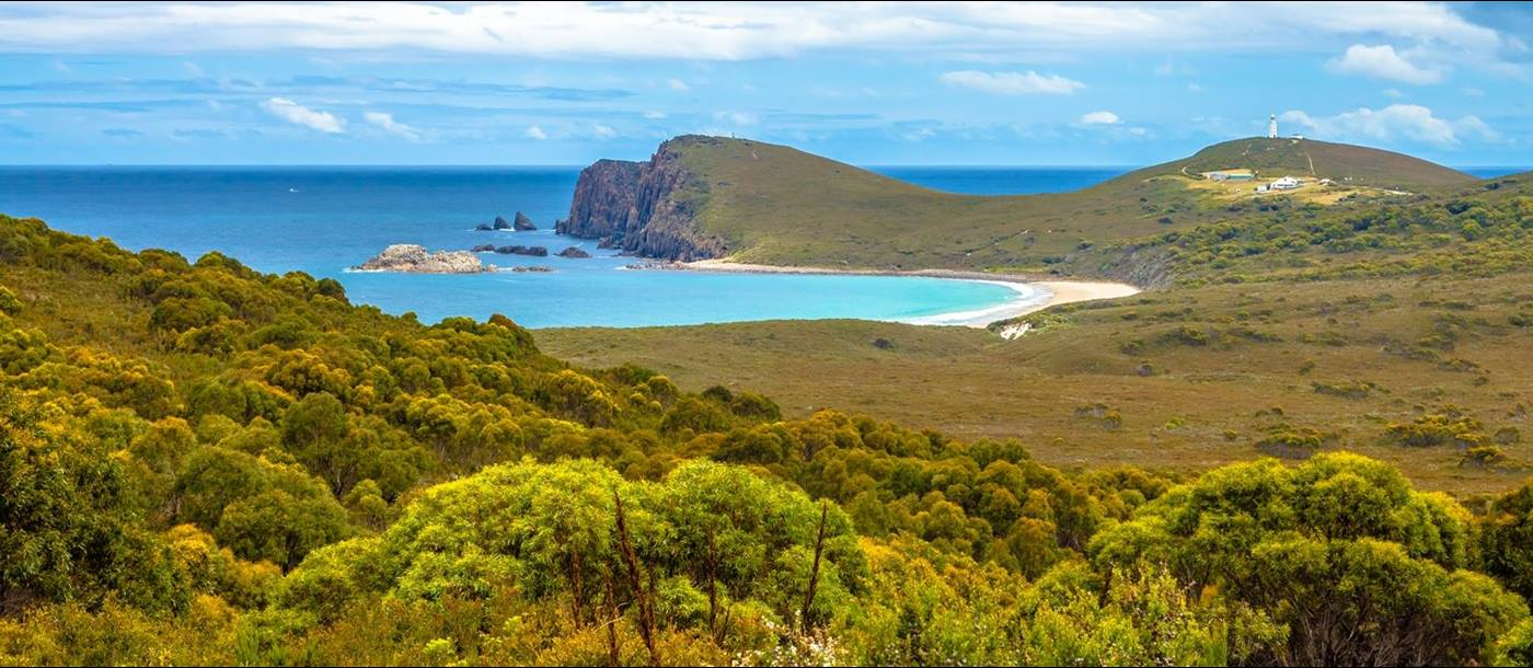 Cape Bruny in Tasmania