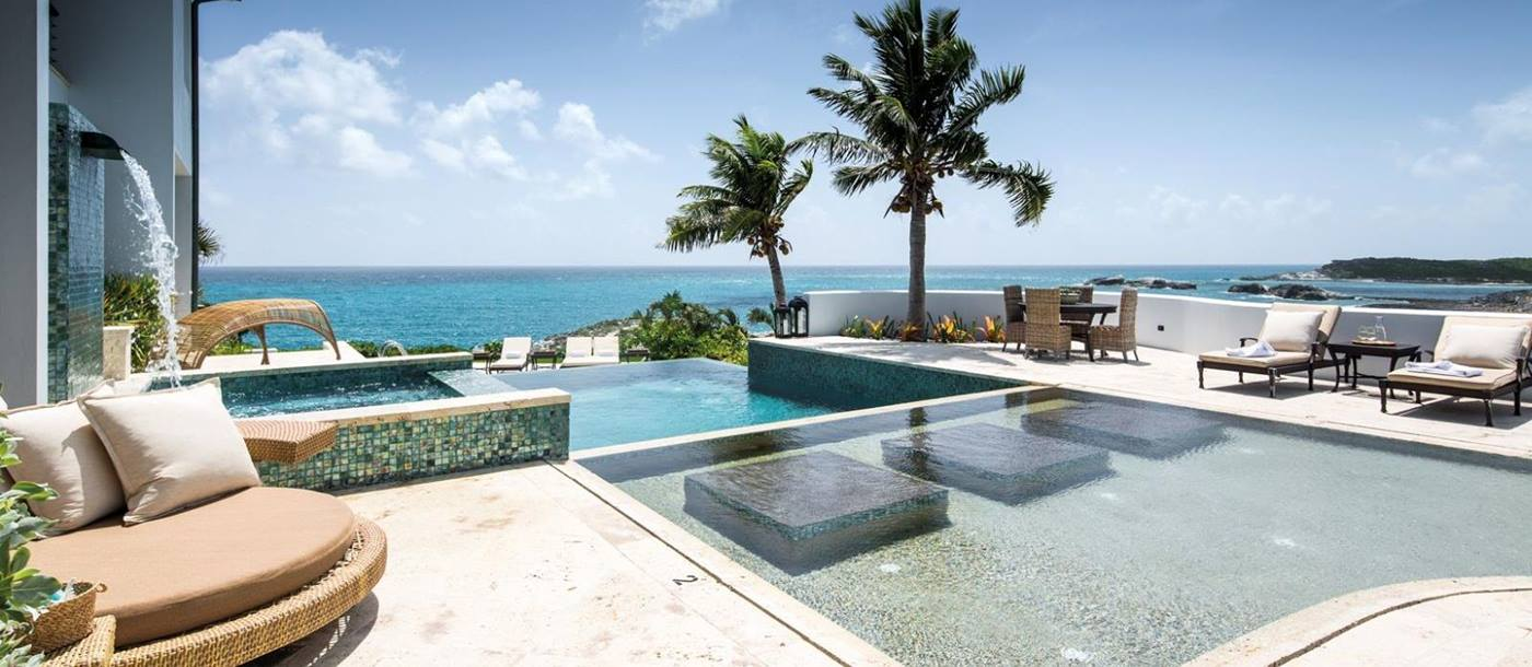 The private pool at Over Yonder Cay