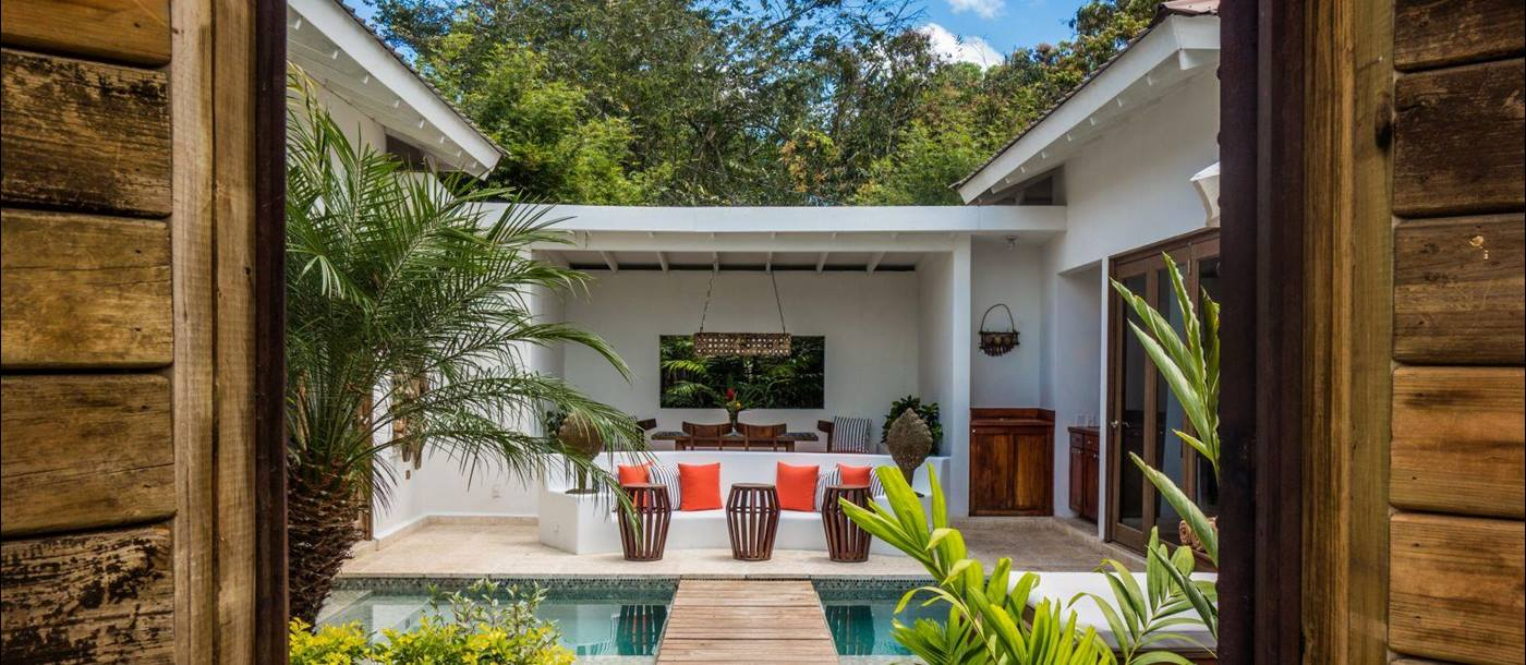 Private villa at Ka'ana Boutique Resort in Belize