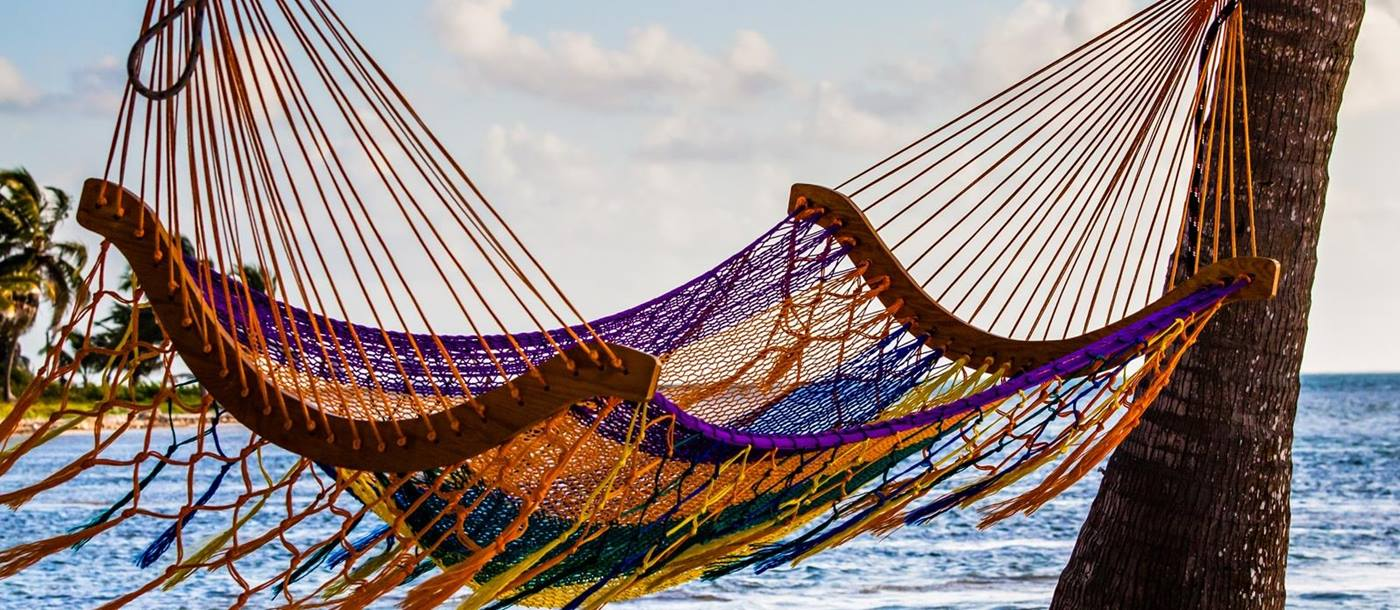 Hammock on beach - Belize