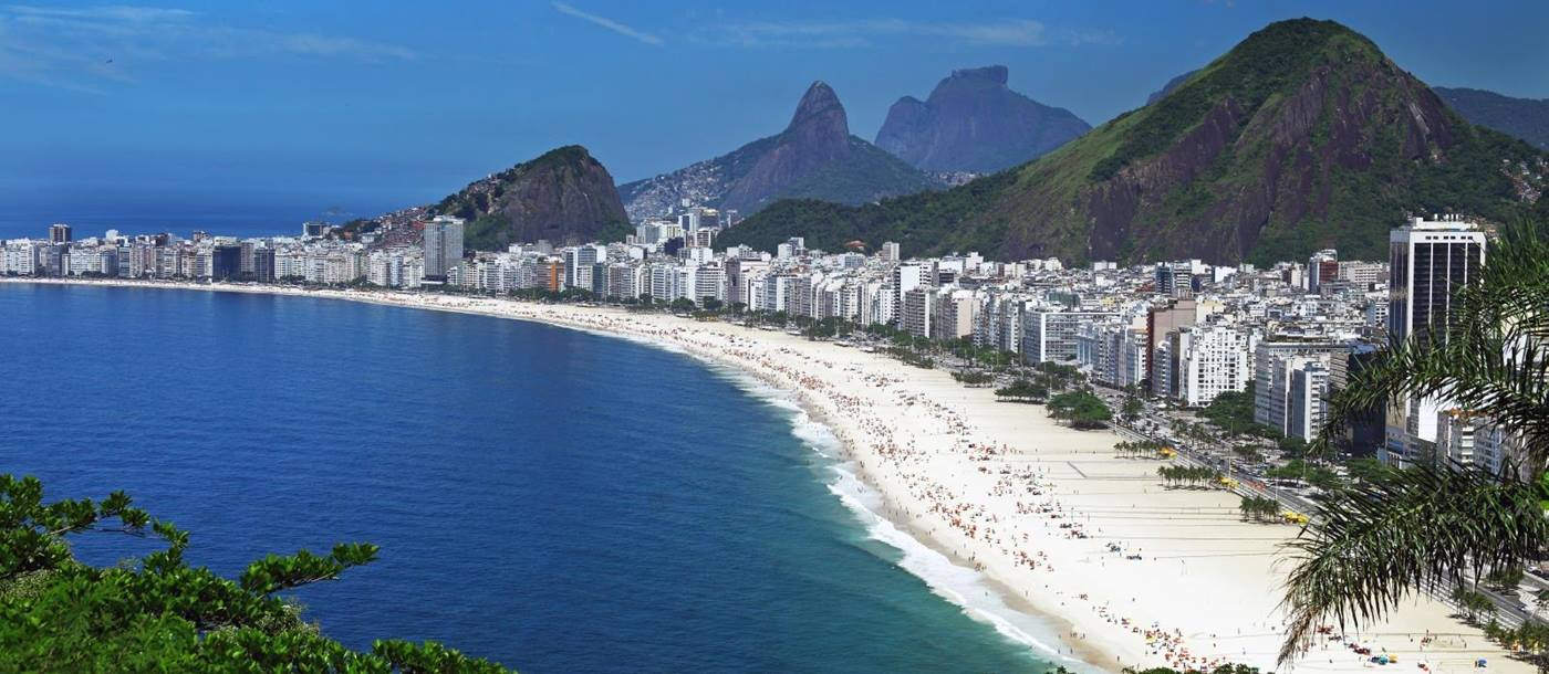 the beach of Rio