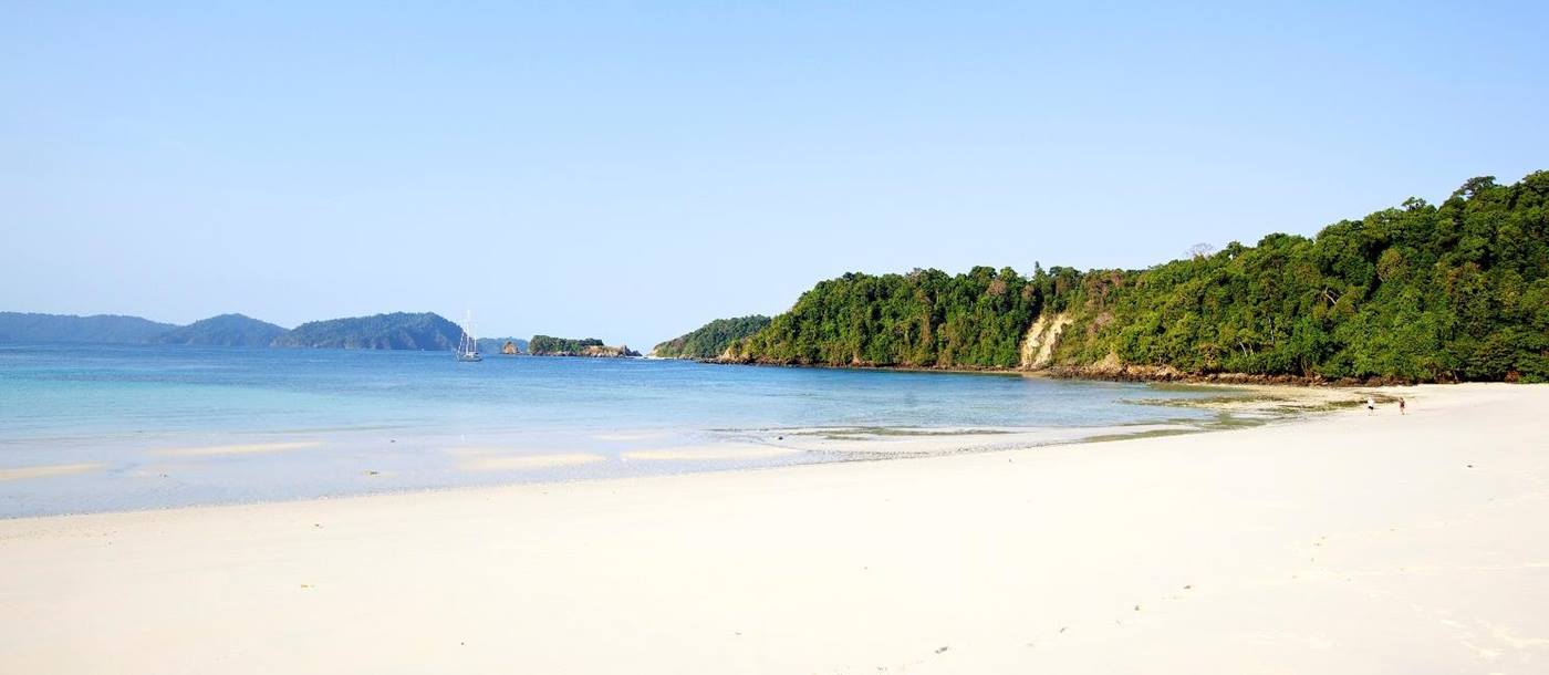 Mergui islands beach, Myanmar