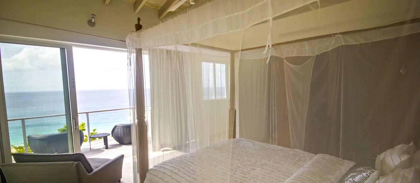 Double bedroom of Villa Lune, British Virgin Islands