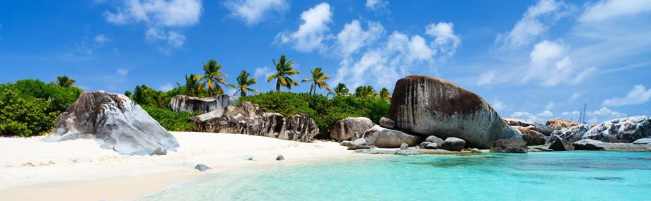 The VIrgin Gorda at British Virgin  Islands