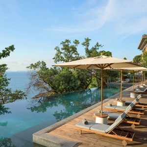 Ocean view at Six Senses Krabey Island, Cambodia