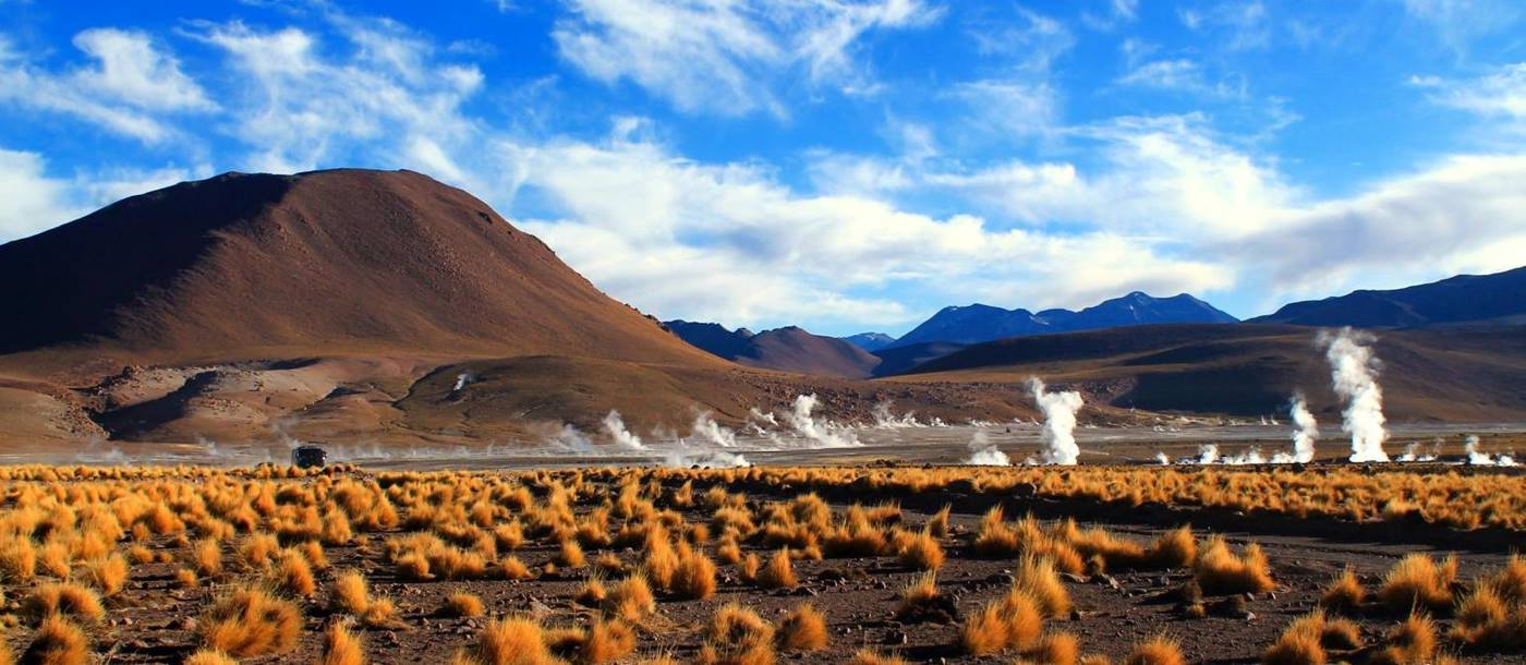 El Tatio geysers in the Atacama Desert in Chile