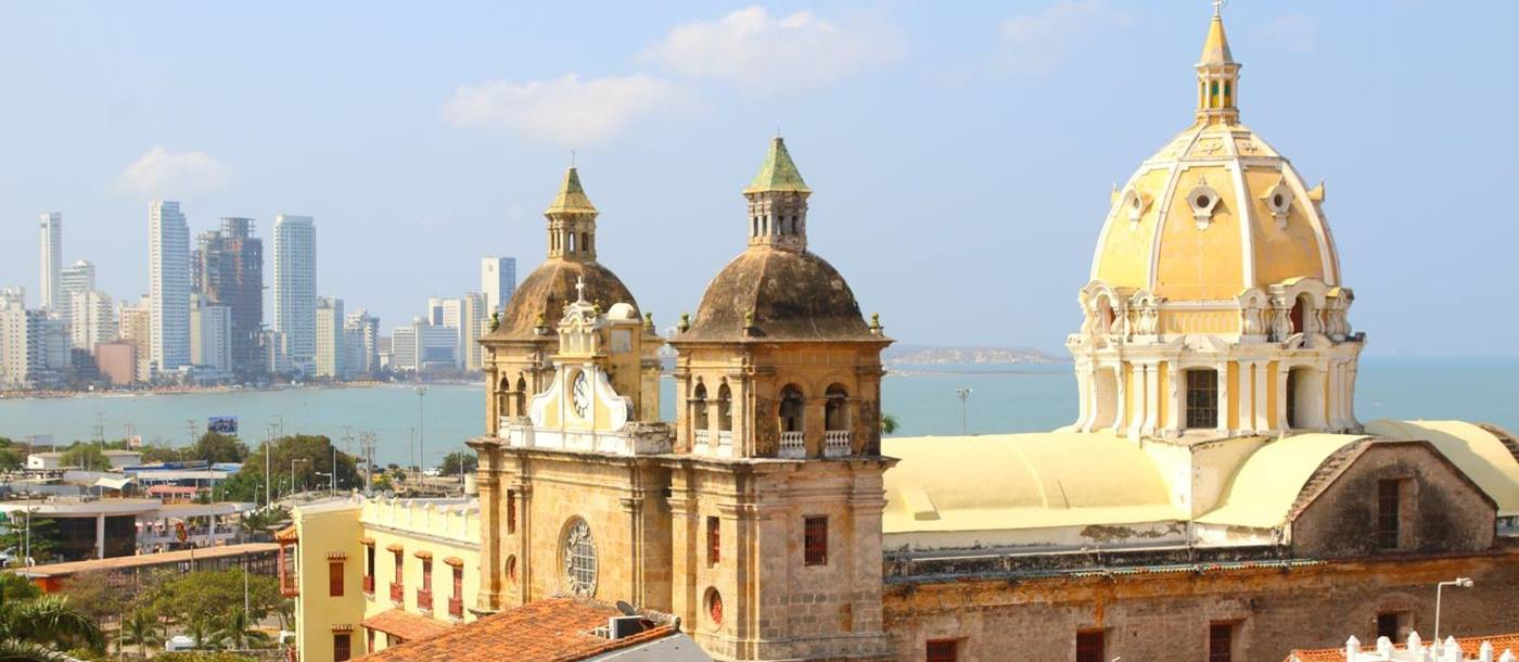 Church of St Peter Claver in Cartagena