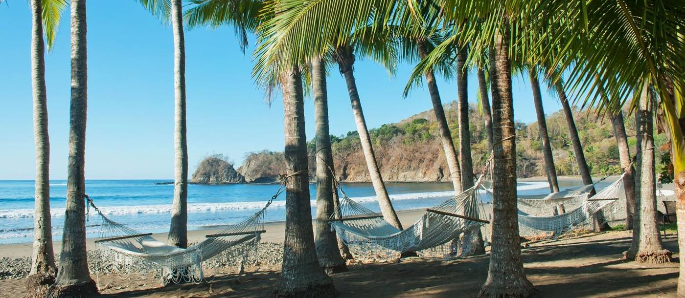 Beach at Punta Islita in Costa Rica