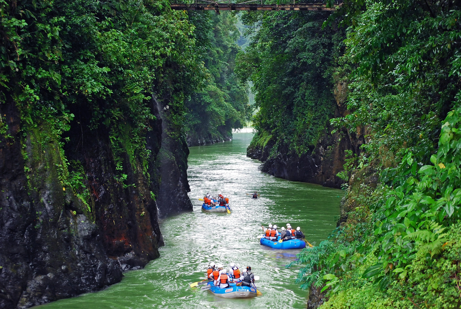 Rafting at Pacuare Lodge in Costa Rica