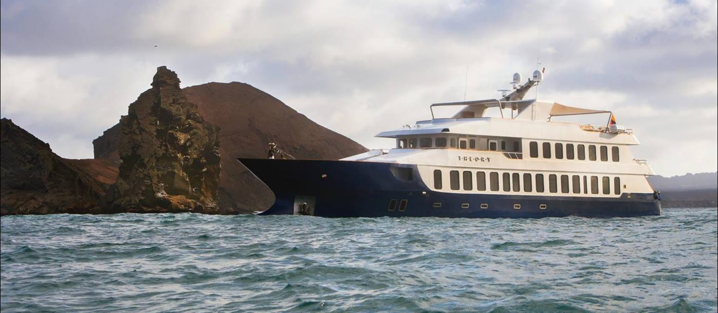 Exterior on board Theory in the Galapagos