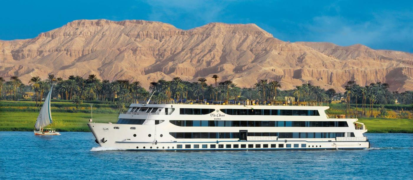 The Oberoi Zahra sailing in Egypt