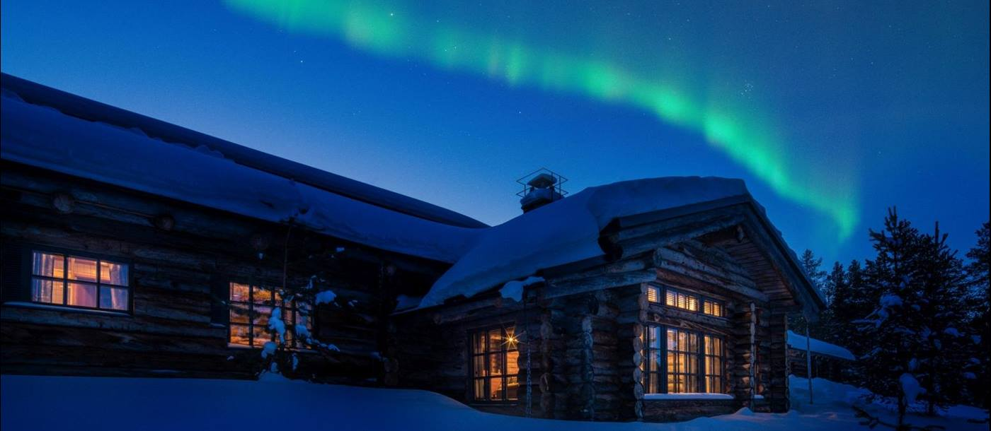 Northern Lights at L7 Luxury Lodge