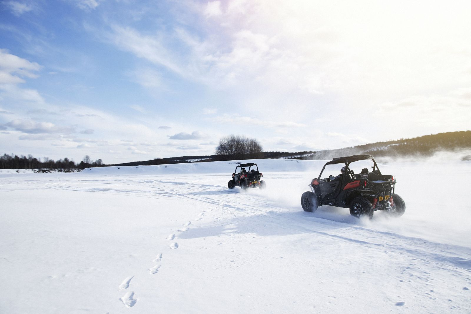 Activities from Octola private wilderness lodge in Finnish Lapland