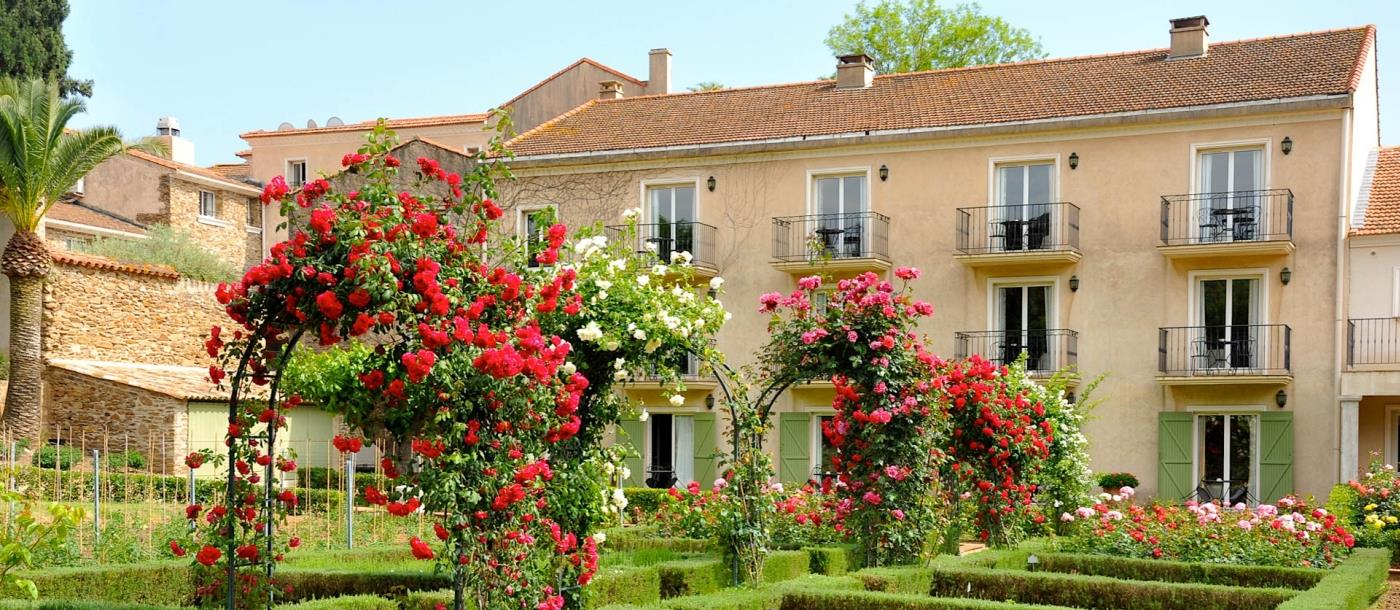 Gardens at Chateau de Valmer in France