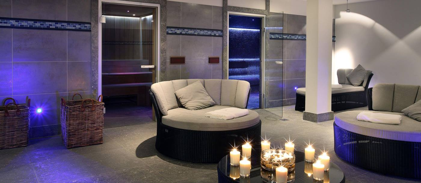 Spa room in Hotel le Portetta, France