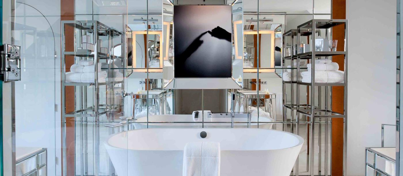 Bathroom in Le Royal Monceau, France