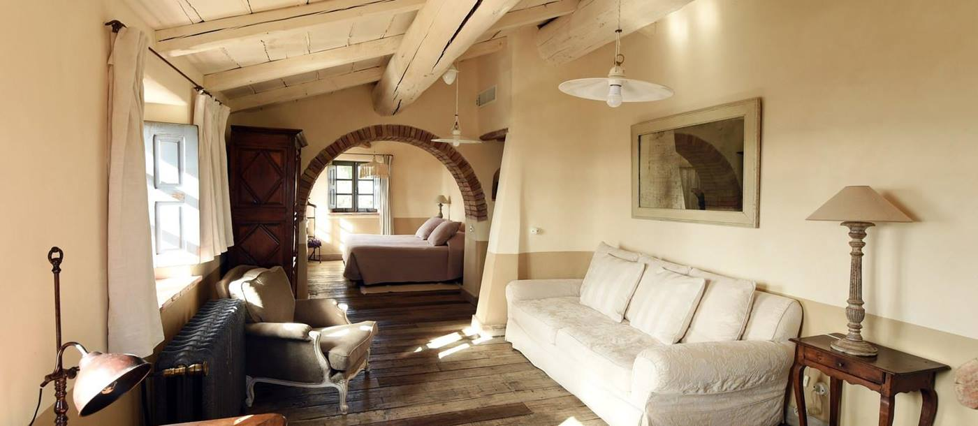 Double bedroom with living room in A Liccia, Corsica