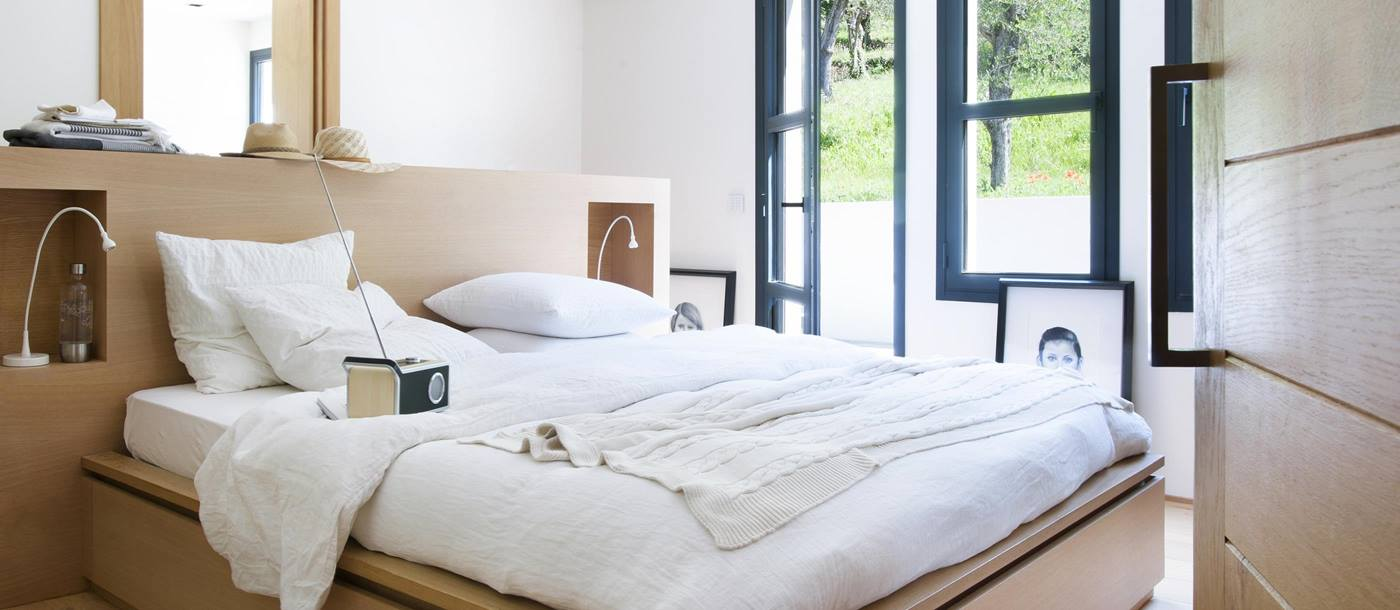 Double bedroom in La Bastide des Oliviers, Cote dAzur