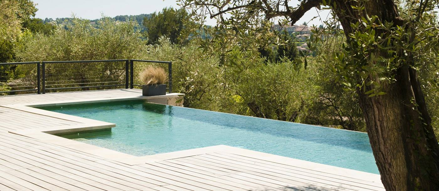 Swimming pool of La Bastide des Oliviers, Cote dAzur