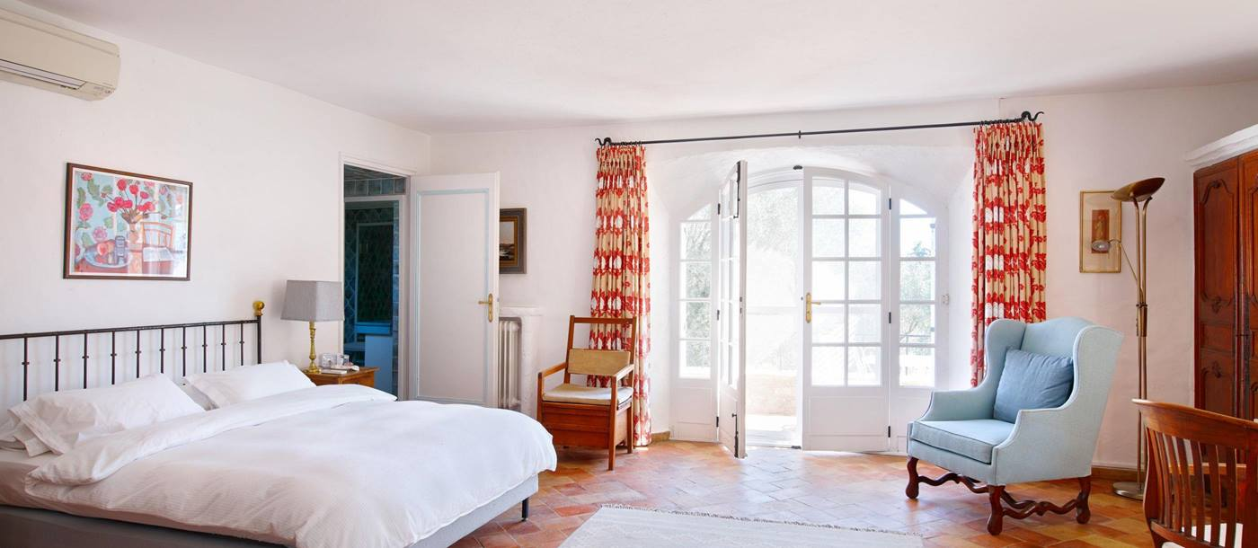 double bedroom in Le Monastere de Valbonne, Cote dAzur