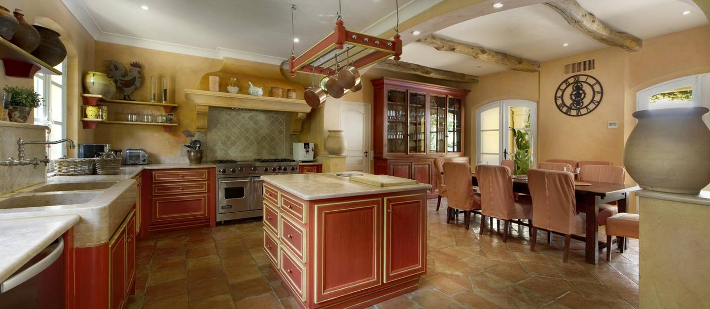 Kitchen of Villa des Tourterelles, Cote dAzur