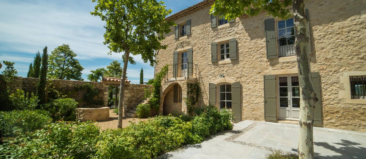 Exteriors of Bastide des Muriers, Provence