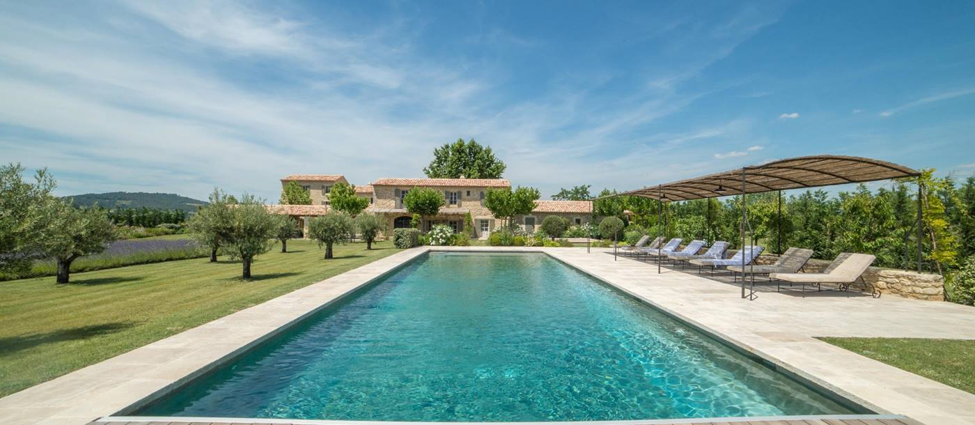 Swimming pool of Bastide des Muriers, Provence
