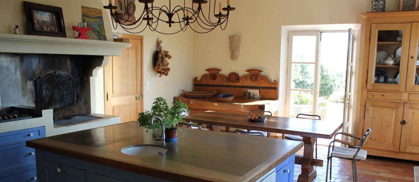 kitchen in Le Provencal, Provence