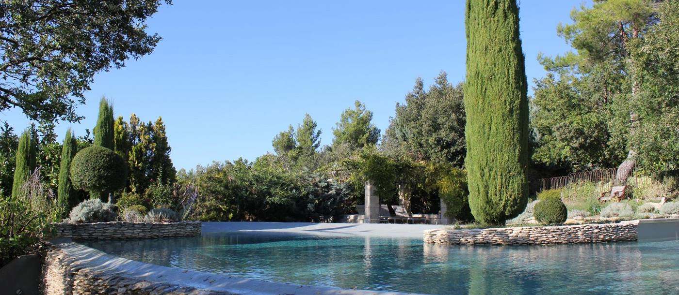 swimming pool of Le Provencal, Provence