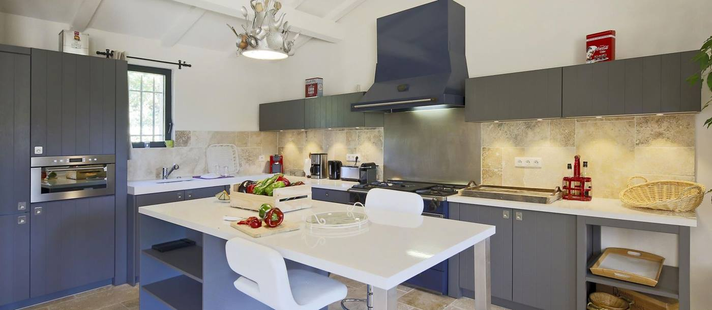 Kitchen in Villa Adelaine, Provence