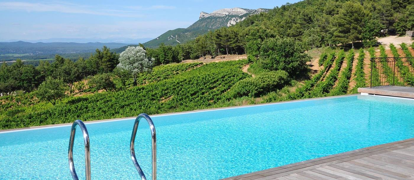 swimming pool of Villa Aigle, Provence
