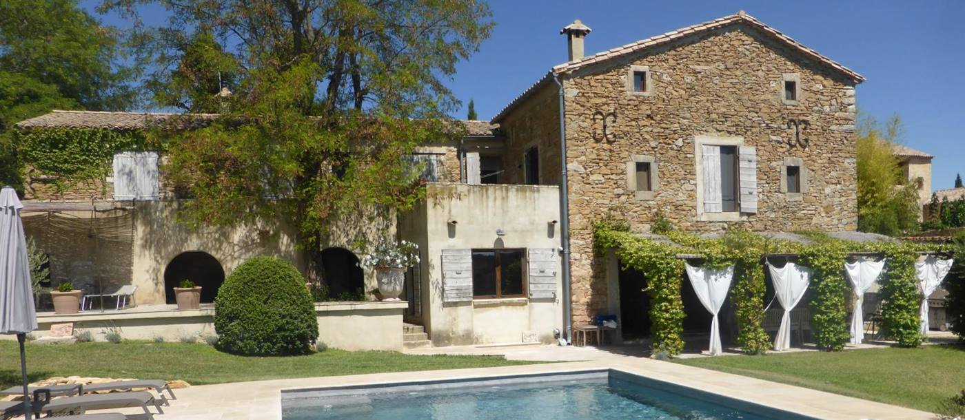 swimming pool of Villa Romaine, Provence