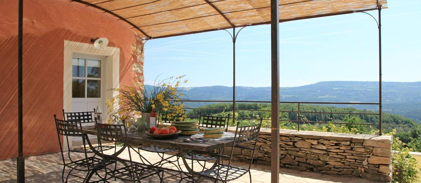Terrace at Villa Sage, Provence