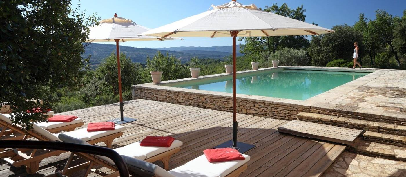 swimming pool of Villa Sage, Provence