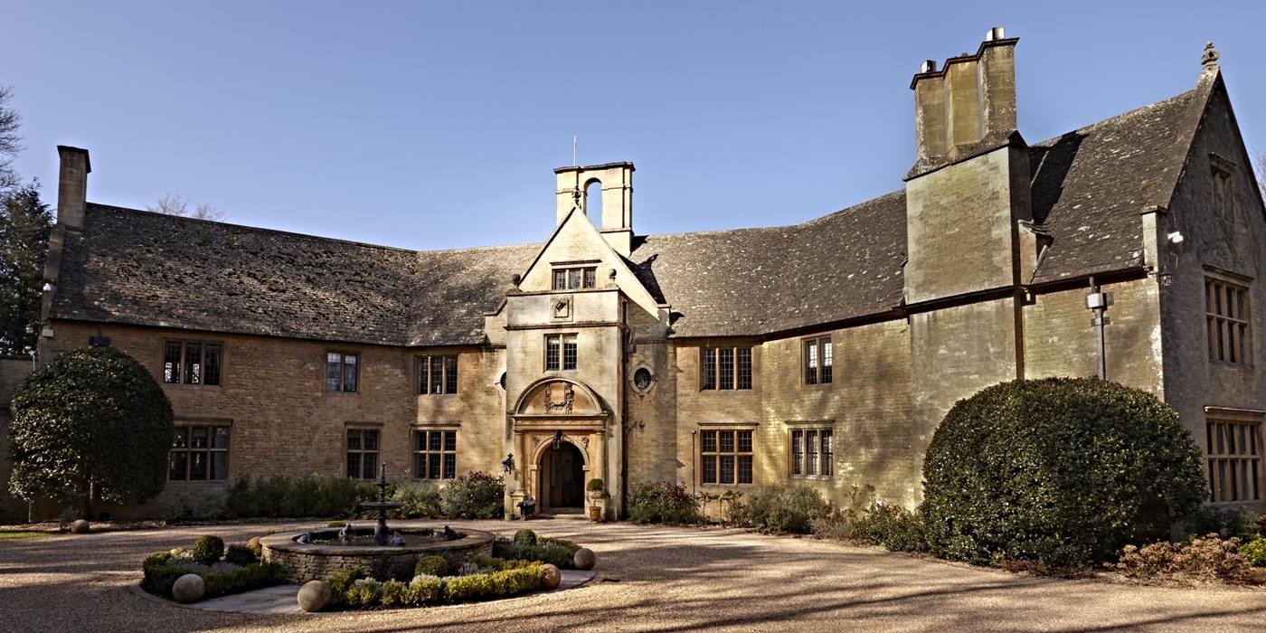 Exterior of Foxhill Manor, Cotswolds