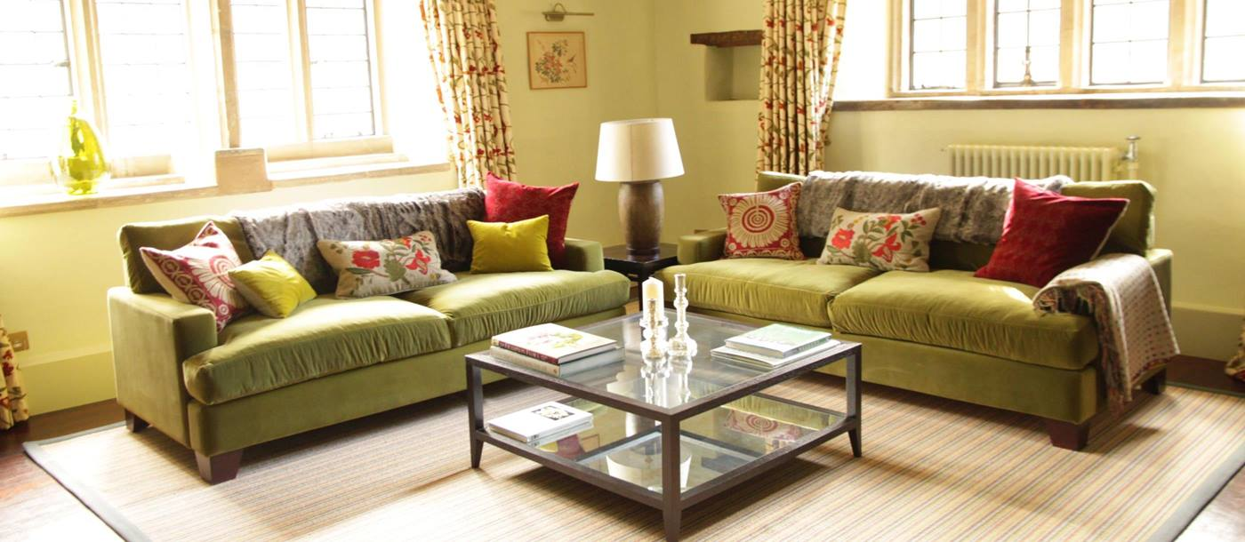 Lounge in Melksham Court, Cotswold